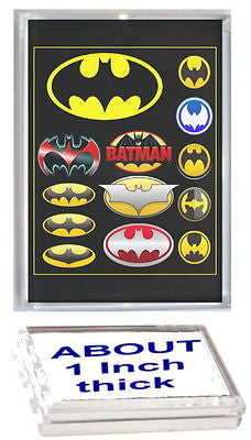 Batman Bat Signal History Acrylic Executive Display Piece Desk Top Paperweight , Other - n/a, Final Score Products