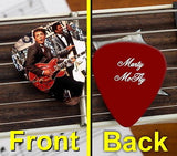 Back To The Future Marty McFly Set of 3 premium Promo Guitar Pick Pic , Other - n/a, Final Score Products