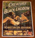 The Creature from the Black Lagoon Movie Poster montage , Other - n/a, Final Score Products