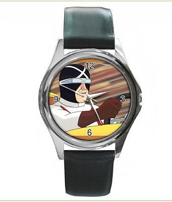 Speed RACER X watch real Leather Band & BOX , Watches & Clocks - n/a, Final Score Products