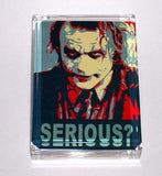 Batman The Dark Knight JOKER Heath Ledger SERIOUS? Executive Paperweight , Other - n/a, Final Score Products