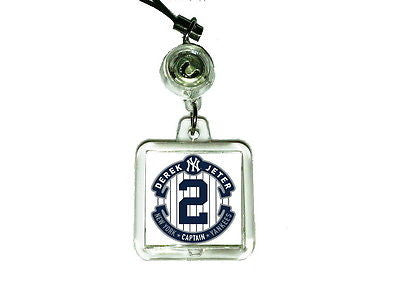 New York Yankees Derek Jeter Cell Phone Blinking Flashing Charm