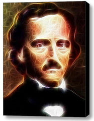 Framed Edgar Allan Poe Magical 9X11 Art Print Limited Edition w/signed COA , Prints - n/a, Final Score Products