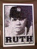 Amazing Babe Ruth New York Yankees Montage 1 of only 25 , Baseball-MLB - n/a, Final Score Products