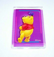 Acrylic Winnie The Pooh Bear and Butterfly Executive Desk Top Paperweight , Other - n/a, Final Score Products