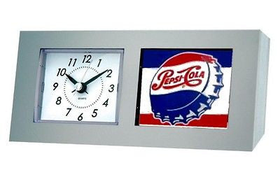 classic retro logo Pepsi Cola Bottle Cap Desk Table Clock , Clocks & Radios - n/a, Final Score Products