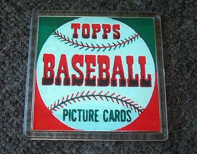 1952 Topps Baseball Wax Pack Coaster 4 X 4 inches