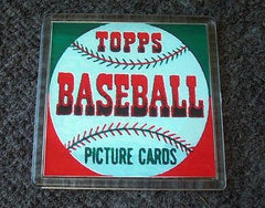 1952 Topps Baseball Wax Pack Coaster 4 X 4 inches , Baseball - n/a, Final Score Products