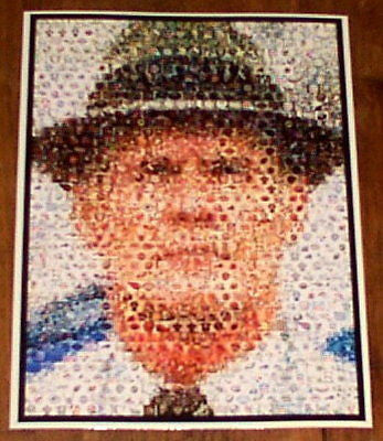 Amazing Tom Landry Dallas Cowboys Montage. 1 of only 25 , Football-NFL - n/a, Final Score Products