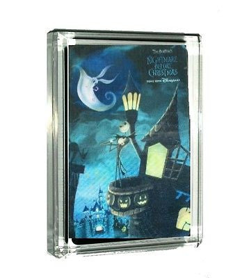 The Nightmare Before Christmas Jack Sally 3D Acrylic Display Piece Paperweight , Other - n/a, Final Score Products