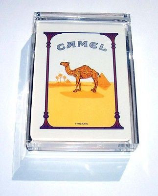 Acrylic classic Camel Cigarettes pack Desk Paperweight , Other - n/a, Final Score Products
