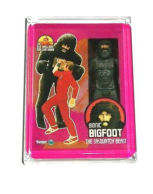 Acrylic The Six Million Doallar Man Bionic Bigfoot Figure Desk Top Paperweight , Other - n/a, Final Score Products
