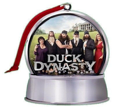 cool NEW Duck Dynasty SnowGlobe Magnet Holiday Tree Ornament , Other - n/a, Final Score Products