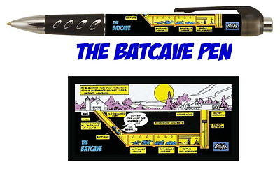 Batman Bat Cave secret original Batcave plans ink pen buy more and save