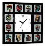 Ugly Stickers Clock with 12 pictures topps in weird , Other - n/a, Final Score Products