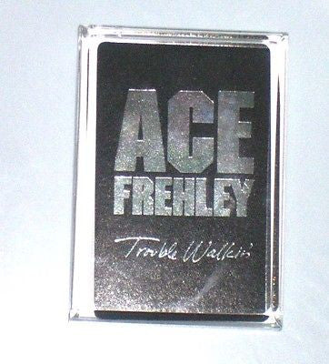 Acrylic KISS Ace Frehley Executive Desk Top Paperweight