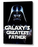 Framed Star Wars Darth Vader Galaxy's Greatest Father Best Dad of the year , Darth Vader - n/a, Final Score Products