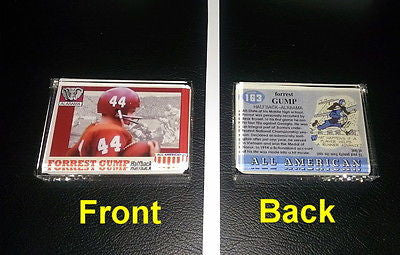 Forrest Gumb Alabama Crimson Tide Football Card prop Display Piece Paperweight , Other - n/a, Final Score Products