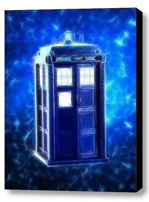 Framed Magical Dr. Doctor Who Tardis 9X11 Art Print Limited Edition w/signed COA