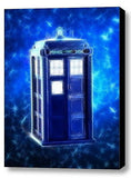Framed Magical Dr. Doctor Who Tardis 9X11 Art Print Limited Edition w/signed COA , Prints - n/a, Final Score Products