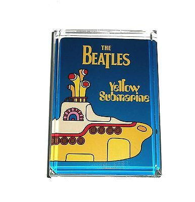 The Beatles Yellow Submarine Acrylic Exec. Paperweight , Novelties - n/a, Final Score Products
