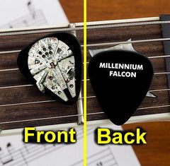 Star Wars Millennium Falcon Promo Limited edition Guitar Pick Pic , Vehicles - n/a, Final Score Products