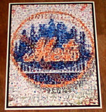 Amazing New York Mets Montage. 1 of only 25 , Baseball-MLB - n/a, Final Score Products