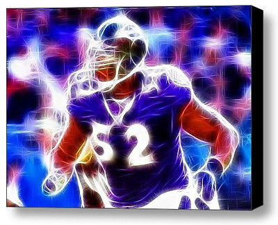 Framed Baltimore Ravens Ray Lewis 9X11 inch Limited Edition Art Print w/COA , Football-NFL - n/a, Final Score Products