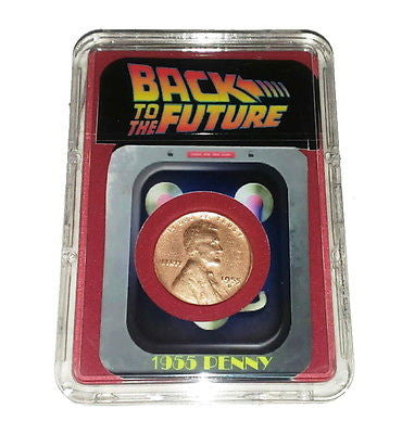 Back To The Future Flux Capacitor 1955 Penny Presentation in Display Piece Prop