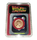 Back To The Future Flux Capacitor 1955 Penny Presentation in Display Piece Prop , Other - n/a, Final Score Products