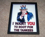 NEW framed NY Yankees Uncle Sam WPA poster , Baseball-MLB - n/a, Final Score Products