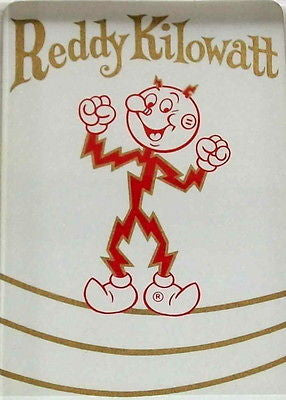Official Reddy Kilowatt Fridge Magnet big 2.5 X 3.5 inches