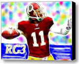 Framed Washington Redskins RG3 9X11 inch Limited Edition Art Print w/COA , Football-NFL - n/a, Final Score Products