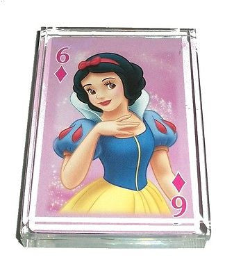 Disney Princess Snow White Acrylic Executive Desk Top Paperweight
