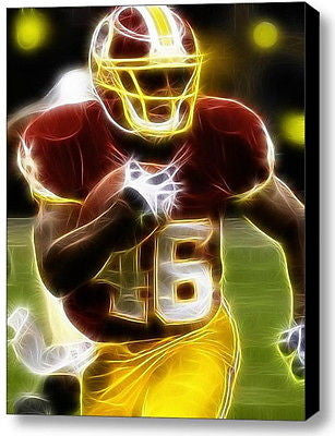 Framed Alfred Morris Washington Redskins 9X11 Limited Edition Art Print w/COA , Football-NFL - n/a, Final Score Products