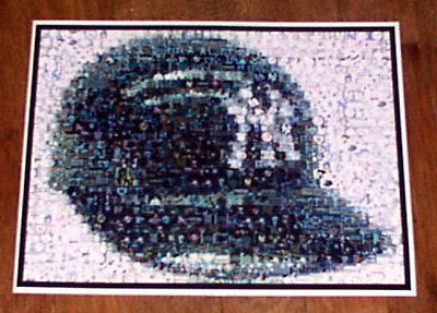 AMAZING New York Yankees vintage Helmet montage. WOW!! , Baseball-MLB - n/a, Final Score Products