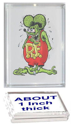 Ratfink Rat Fink Acrylic Executive Display Piece or Desk Top Paperweight , Other - n/a, Final Score Products