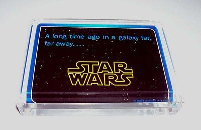 Acrylic Star Wars Executive Desk Top Paperweight , Other - Star Wars, Final Score Products