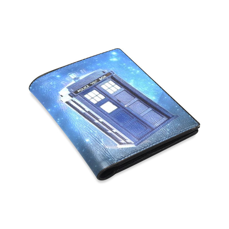 Dr. Who Tardis Space Men's Leather Wallet