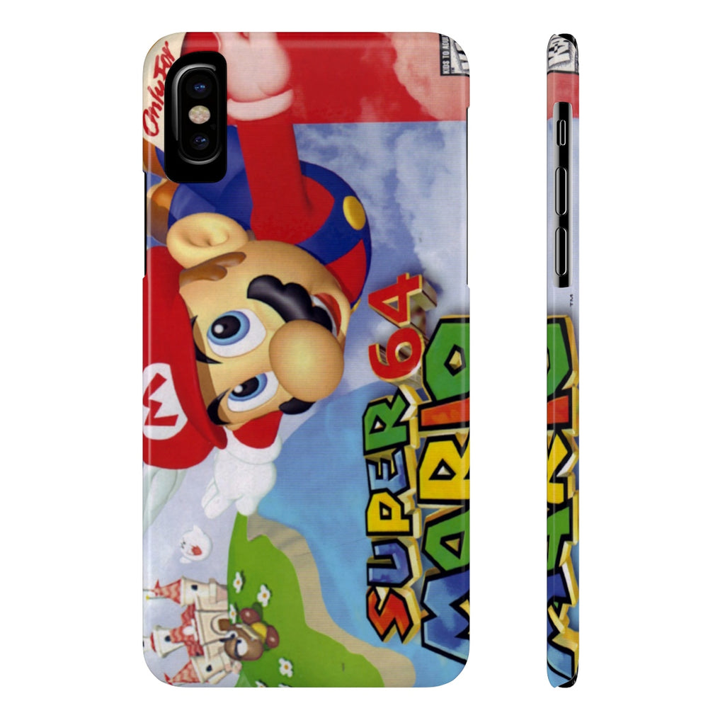 Super Mario 64 Nintendo N64 Case Mate Slim Phone Cases