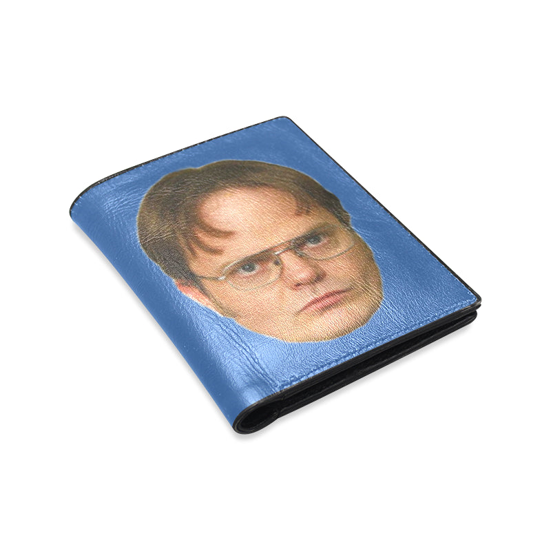 Dwight Schrute Dunder Mifflin Men's or Women's Leather Wallet