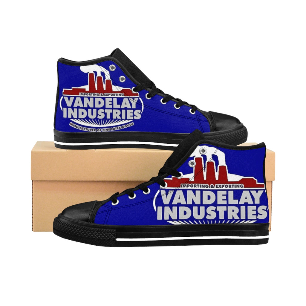 Seinfeld George Costanza Vandelay Industries Men's High-top Sneakers