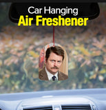 Parks and Rec Recreation Ron Swanson Bacon Car Air Freshener Promo
