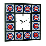 promo Chicago Cubs around the Clock with 12 surrounding images , Baseball-MLB - n/a, Final Score Products