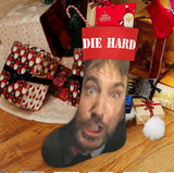 RARE Die Hard Movie Christmas Promo Stocking Full Size John McClane Hans Gruber
