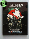 Original Ghostbusters 1984 Glow In The Dark Framed Cool Blacklight Mini Movie Poster ,  - Final Score Products, Final Score Products  - 1