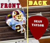 Washington Redskins Sean Taylor Set of 3 premium Promo Guitar Pick Pic ,  - Final Score Products, Final Score Products