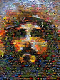 Jesus Christ Creation Mosaic INCREDIBLE , Sports Collectibles - Final Score Products, Final Score Products  - 1