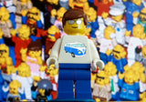 CUSTOM Lego Minifigure Rare Promo Cool Shirt Fan Man , lego - Final Score Products, Final Score Products  - 6