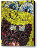 Spongebob Squarepants MMs M&Ms Mosaic ART PRINT INCREDIBLE , Movie Memorabilia - Final Score Products, Final Score Products  - 1